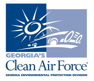 Georgia's Clean Air Force Logo