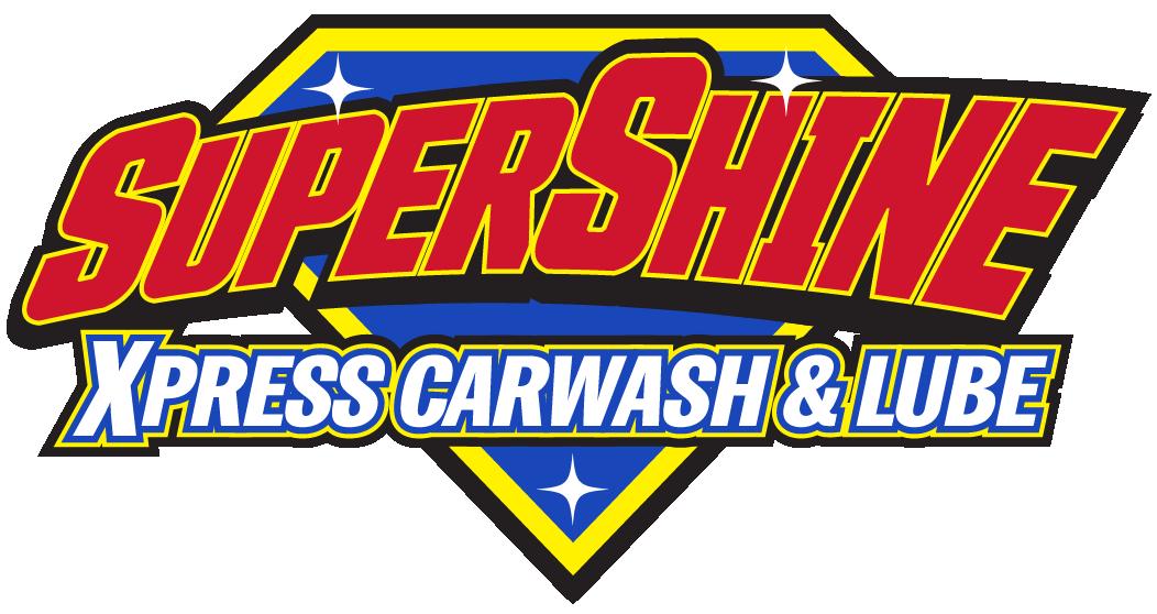 SuperShine Xpress Carwash & Lube Logo